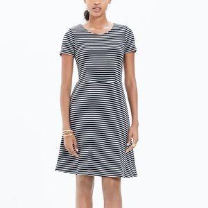 Madewell Sz S Gallerist Striped Dress EUC